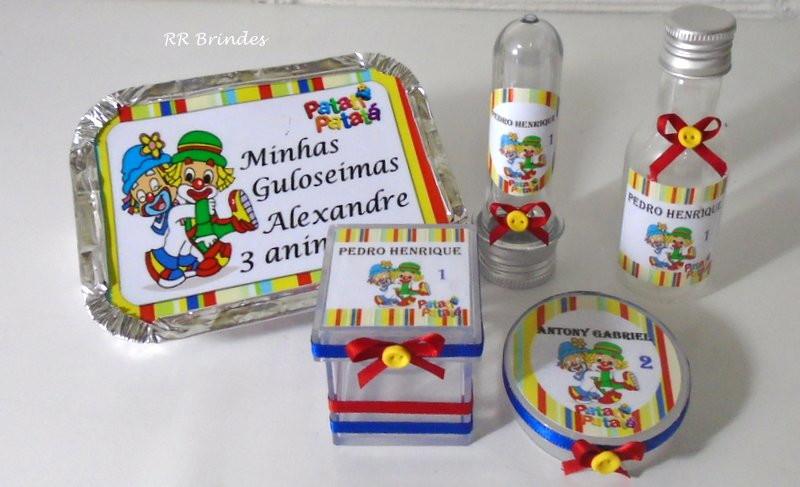 65e4014da Lembrancinha Patati Patata com 5 peças no Elo7