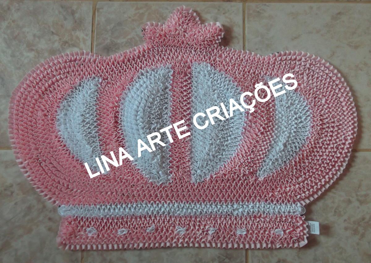 Tapete realeza rosa no elo7 lina arte cria es 55584d for Rosa tapete
