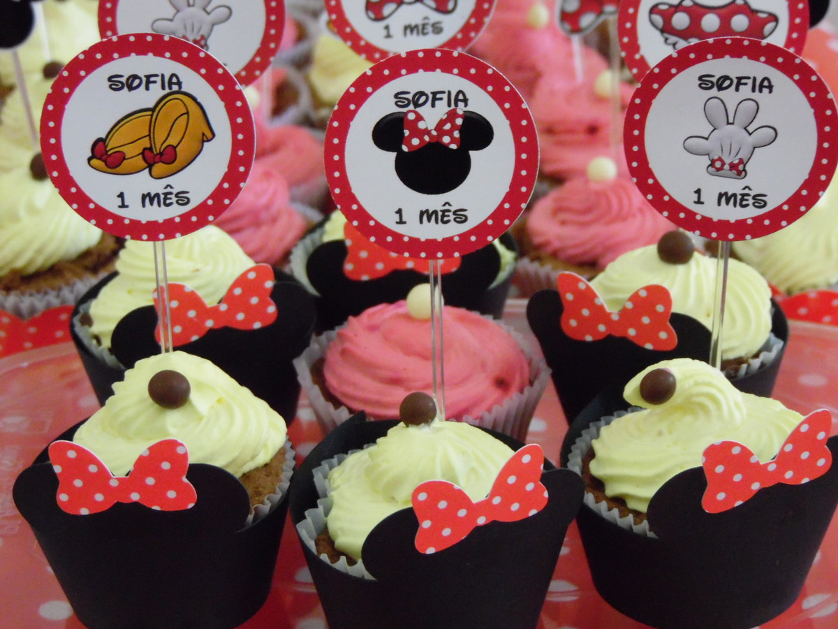 D Mickey Mouse Cake Topper