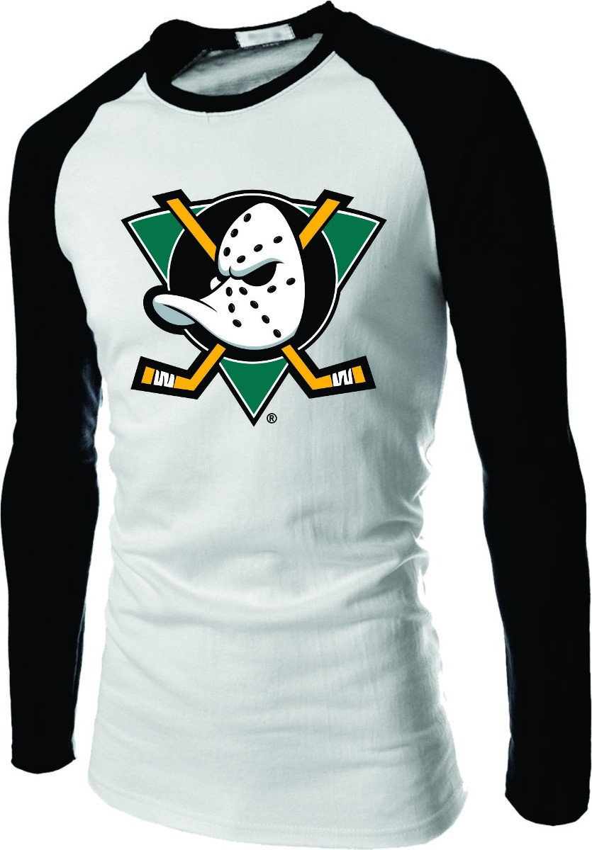 1083d8f28be8f Camisa Anaheim Ducks Manga Longa Raglan no Elo7
