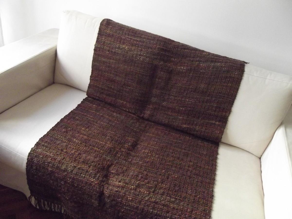 Manta de sof marrom no elo7 cristina sommer 559a2e - Manta para sofa ...