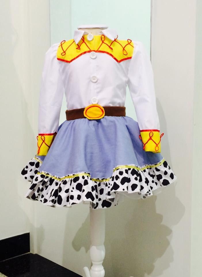 Fantasia Jessie- Toy Story INFANTIL no Elo7  bf9c077947f