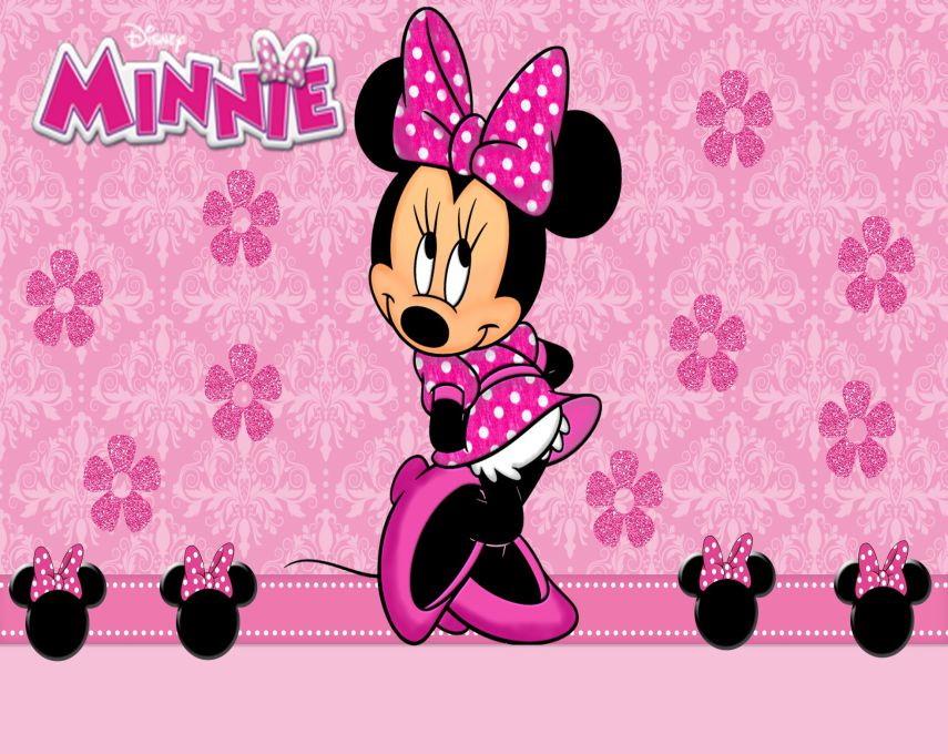 Painel lona festa minnie rosa 120x180cm no elo7 - Image de minnie ...