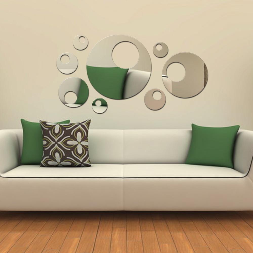 Artesanato Simples De Fazer ~ Espelho De Acrílico Luas Diversas Acrilize Elo7