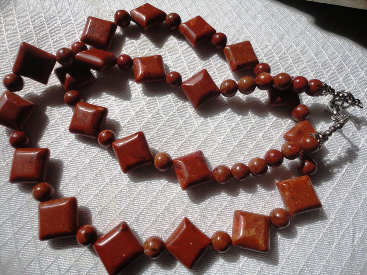 colar coral no elo7 pedras do reino 57444e