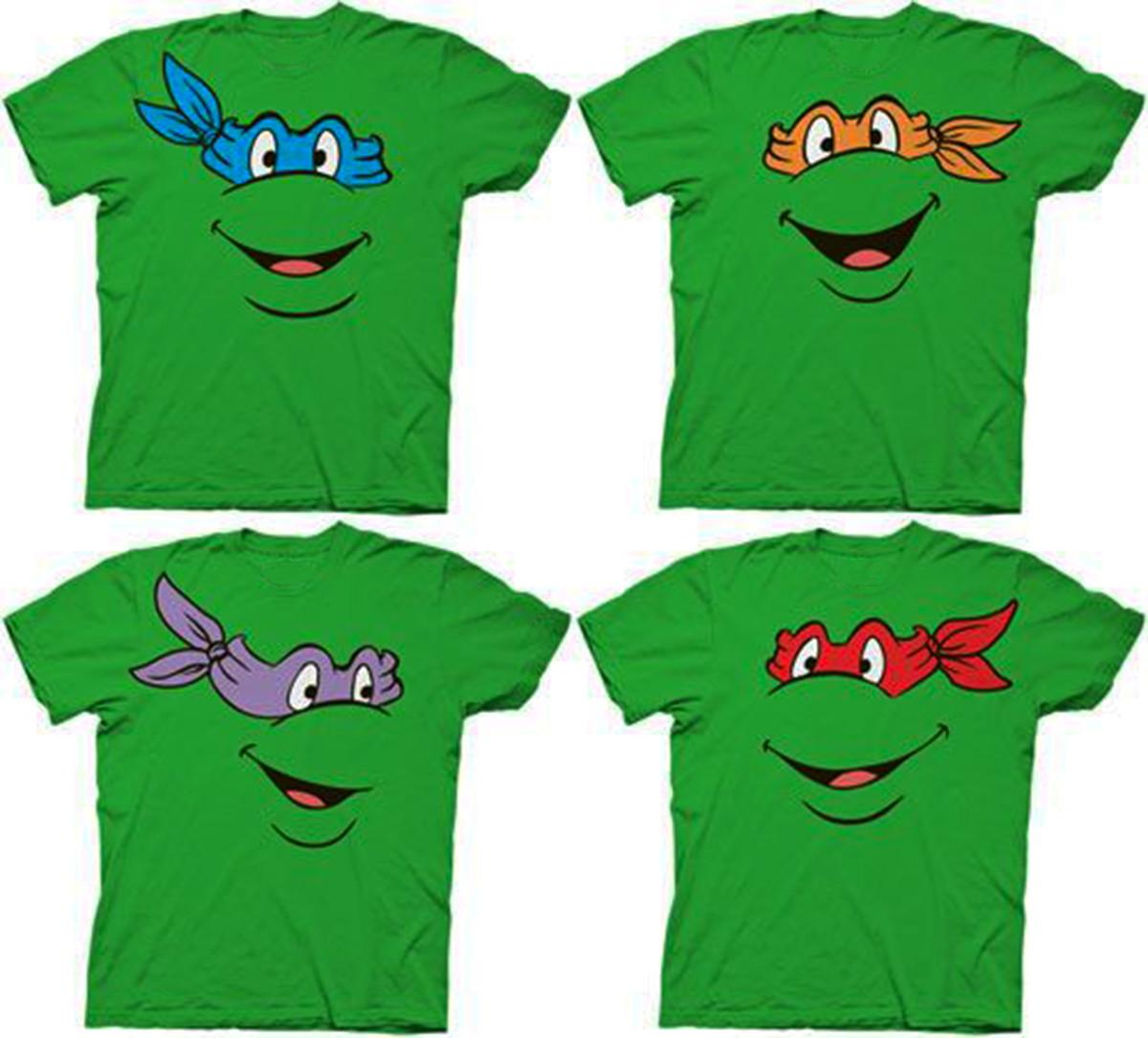 Camiseta Tartarugas Ninja no Elo7  05e2e14f5eb8a