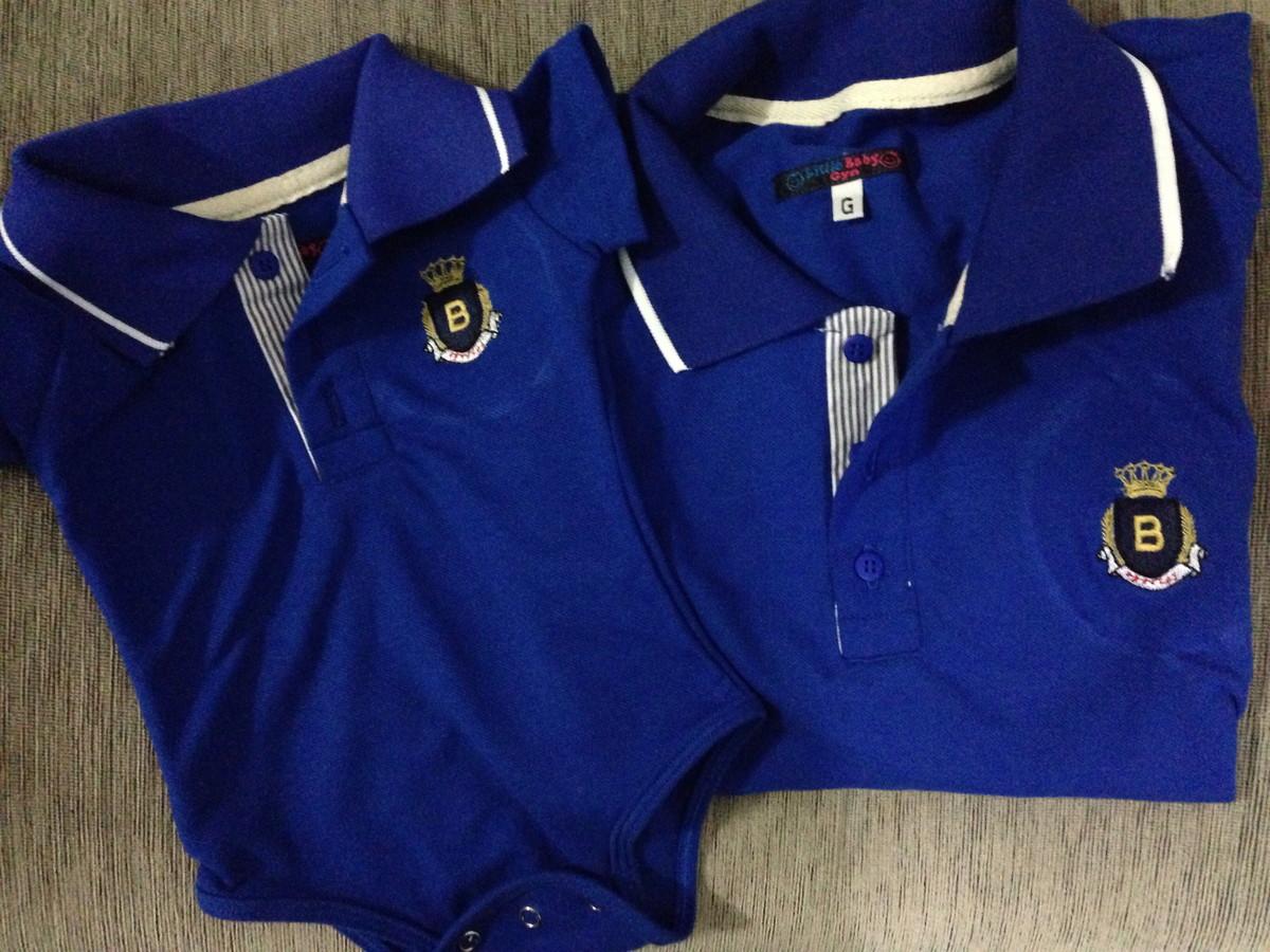 Tal Pai Tal Filho Camisa Polo Iniciais no Elo7  23323772ff938