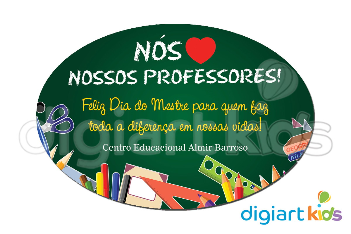 Placa Para Decoracao Dia Dos Professores No Elo7 Digiart Kids 580751