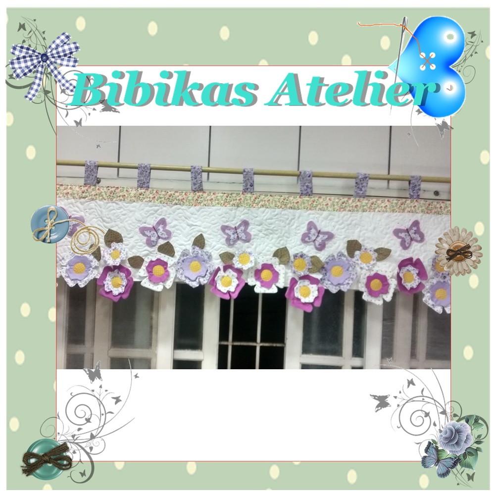 Band De Cortina Flores No Elo7 Bibikas Atelier 584ffc