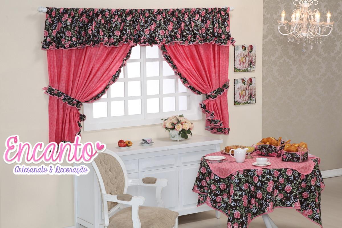 Jogo De Cozinha Mimosa Floral No Elo7 Encanto Artesanato