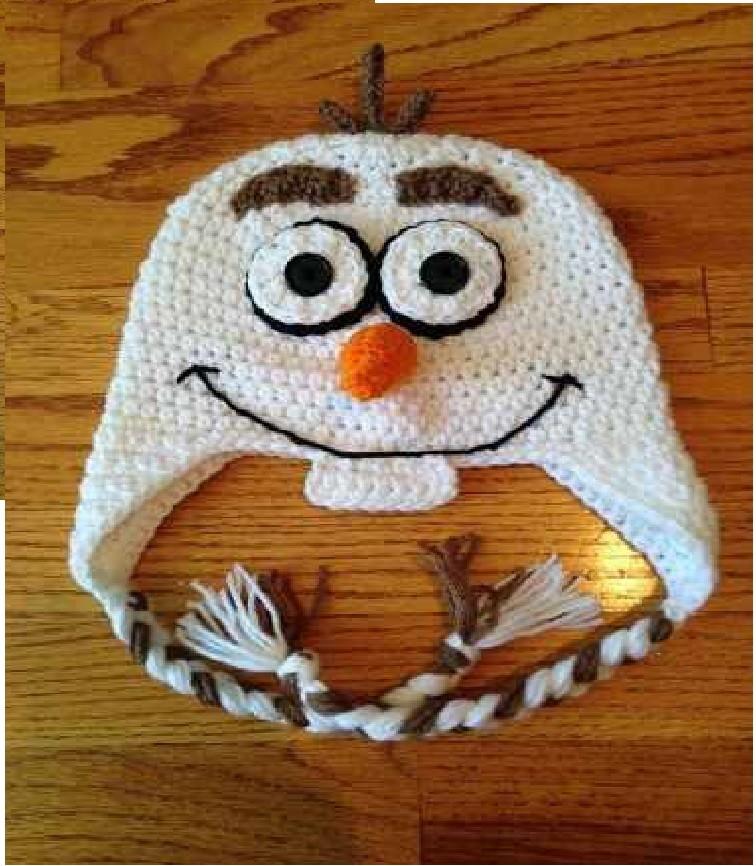 Touca Olaf Frozen no Elo7  4bb57d94589