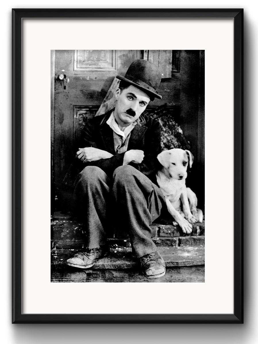 Quadro Charlie Chaplin Retro Decoracao Com Paspatur No Elo7 Red