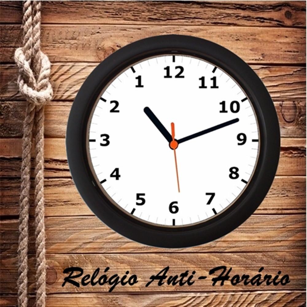 a92f86714b8 Relógio de parede Anti Horário no Elo7
