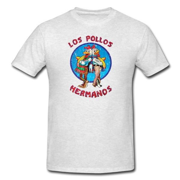 dc170bff1d Camisa Breaking Bad Los Pollos Hermanos no Elo7