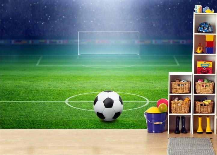Whal Aparador De Pelos ~ Adesivo painel infantil Futebol mod 04 QuartinhoDecorado Elo7