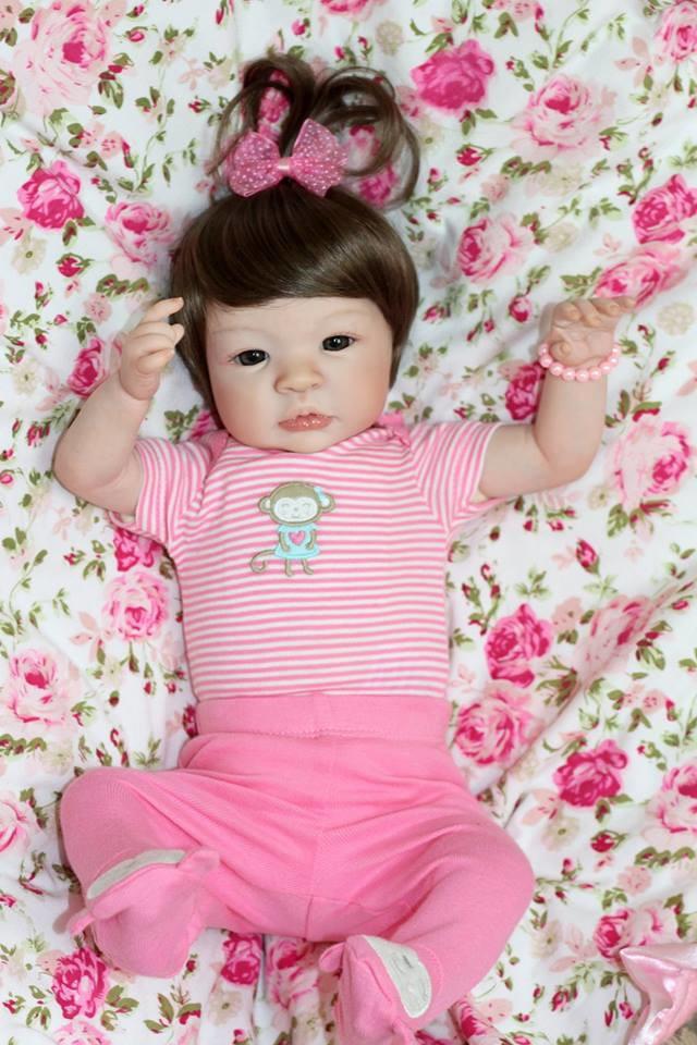 Beb 234 Reborn Dalila Beb 234 Reborn Bonecas De Luxo Elo7