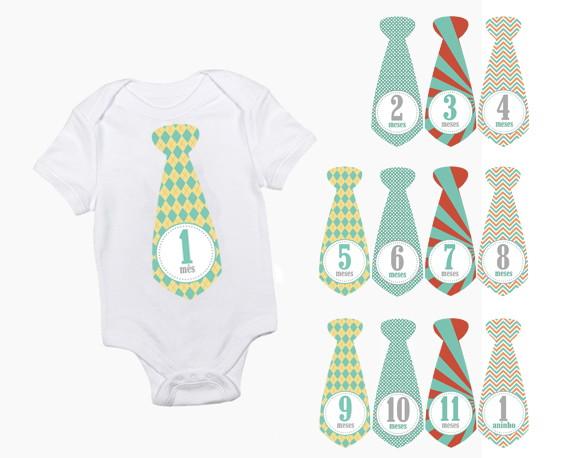 Adesivo De Emagrecimento Funciona ~ Kit Adesivo gravata Mesversário Vintage no Elo7 Maju Gifts (557F1F)