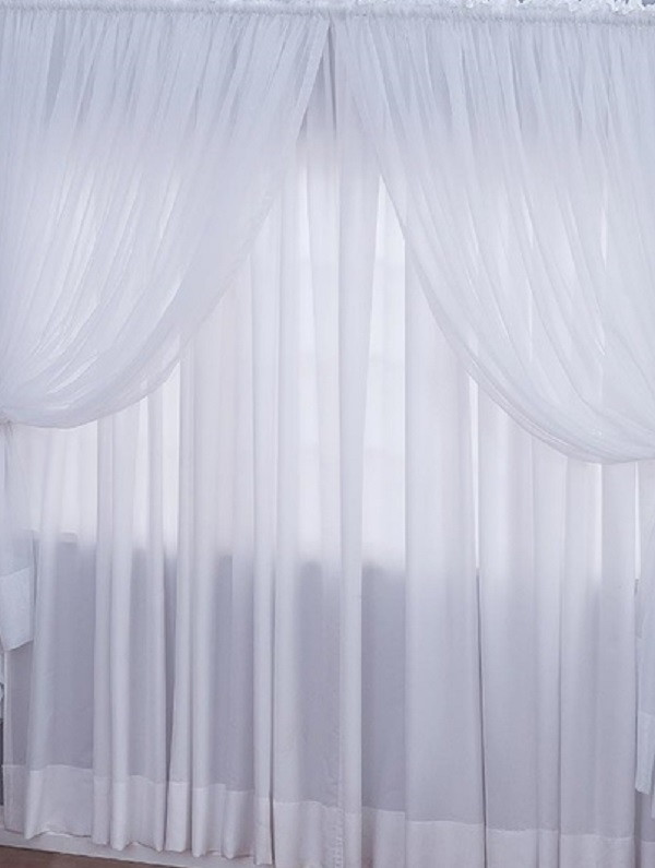 Zoom CORTINA COM BANDO CURTAIN WITH FLOCK