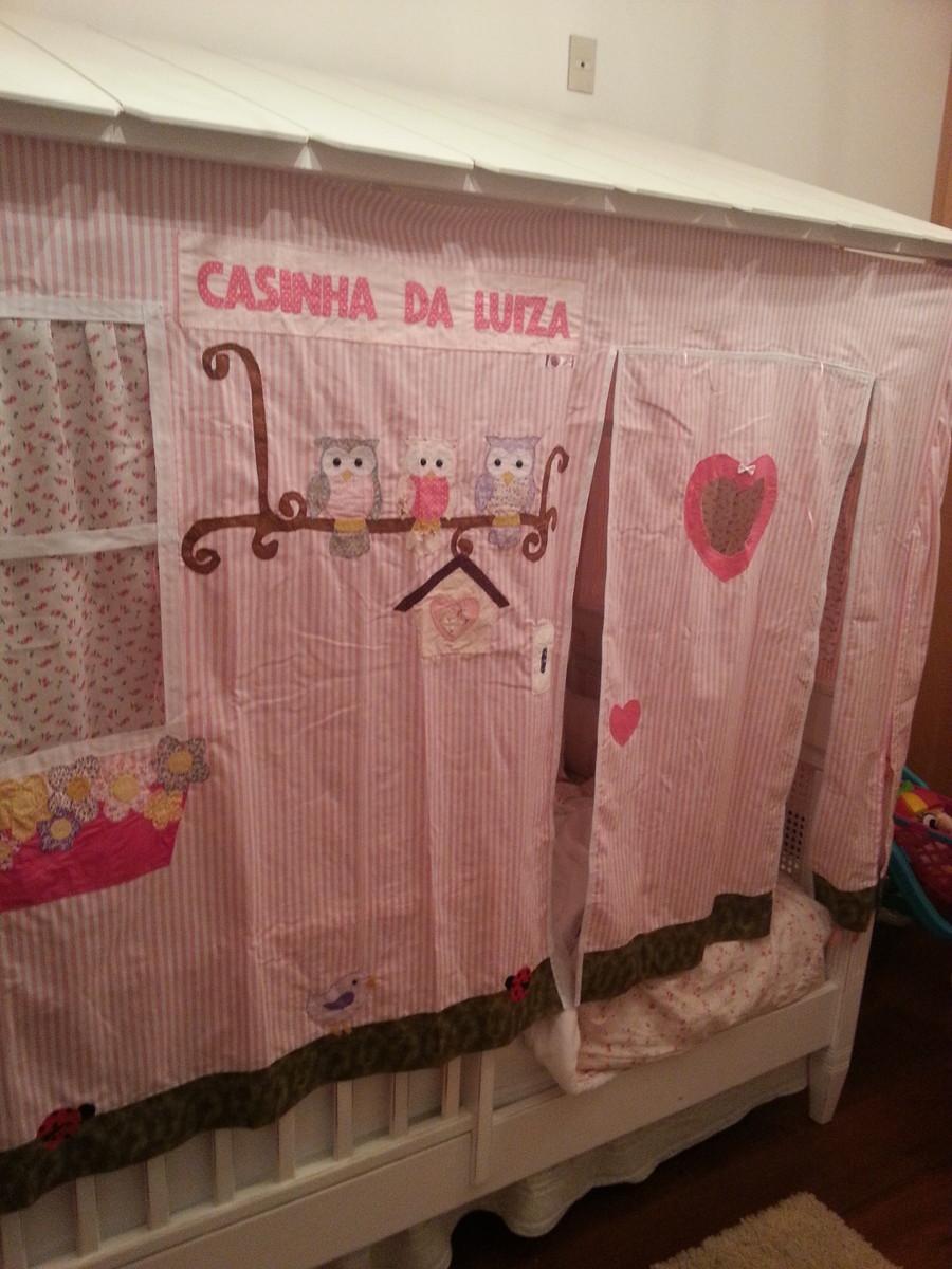 Cabana para cama beliche no elo7 caticutiartes e cabanas for Sofa que se transforma em beliche
