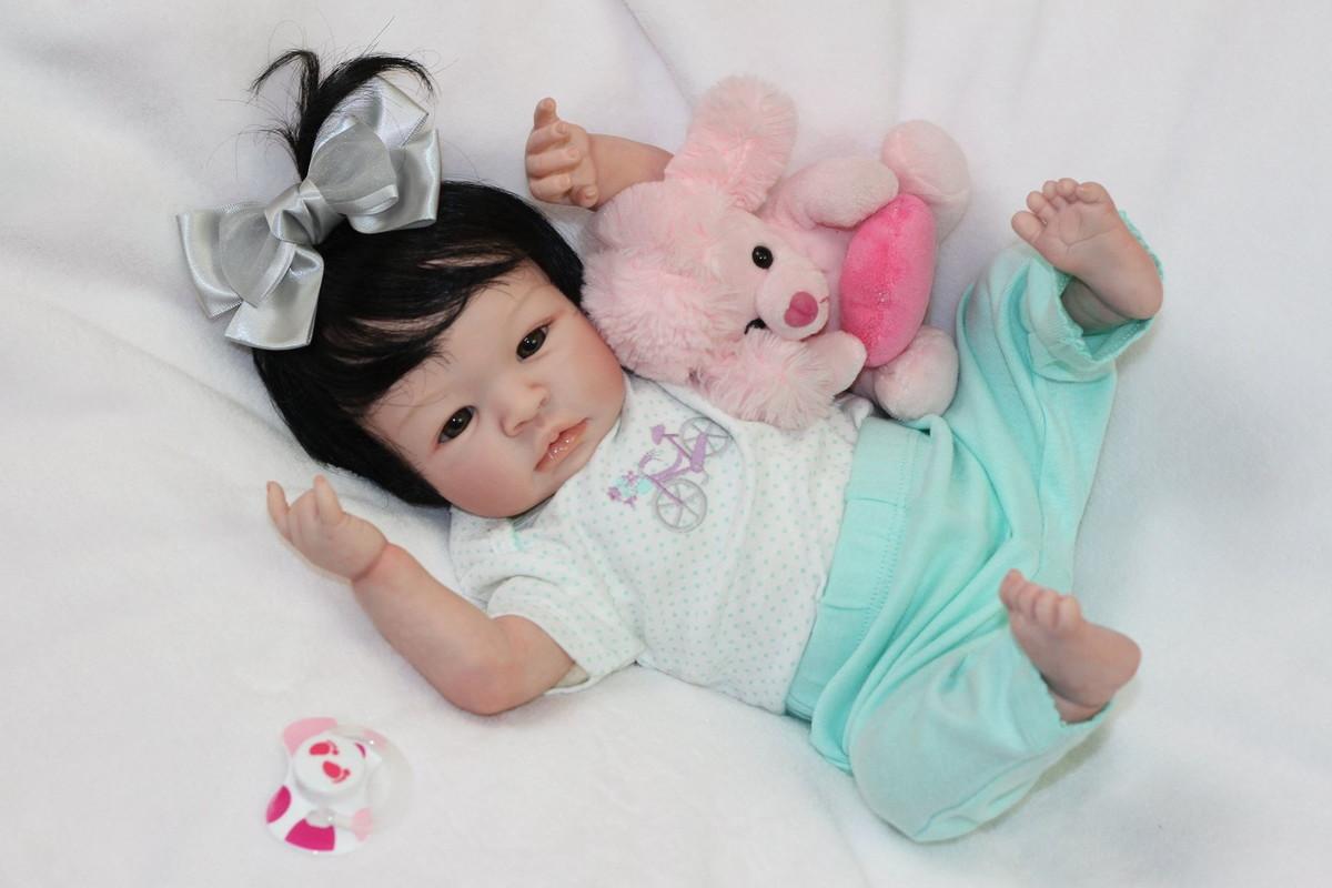 beb reborn lia beb reborn bonecas de luxo elo7. Black Bedroom Furniture Sets. Home Design Ideas