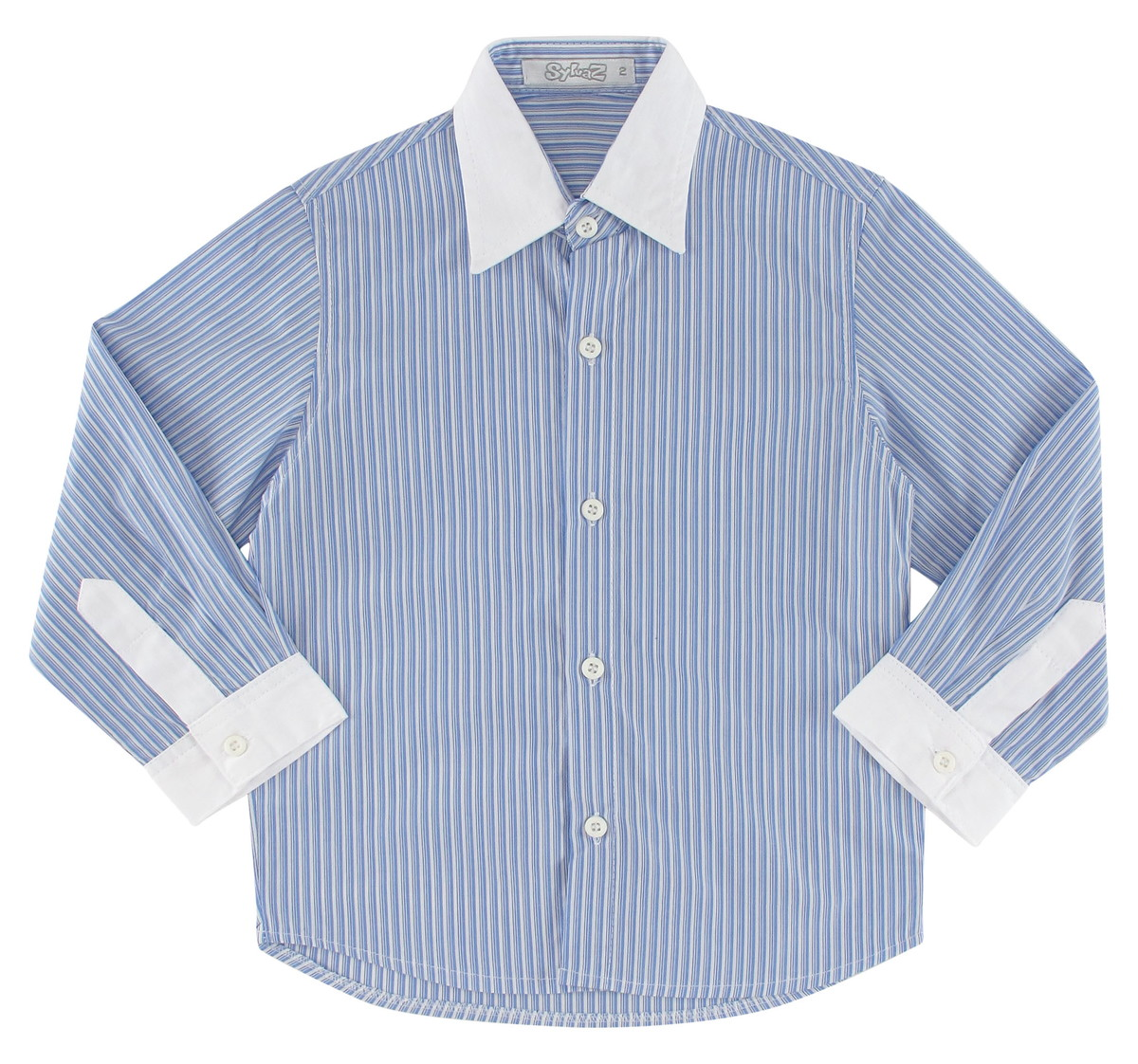 6dcc8d3ab Camisa Social Infantil Manga Longa no Elo7