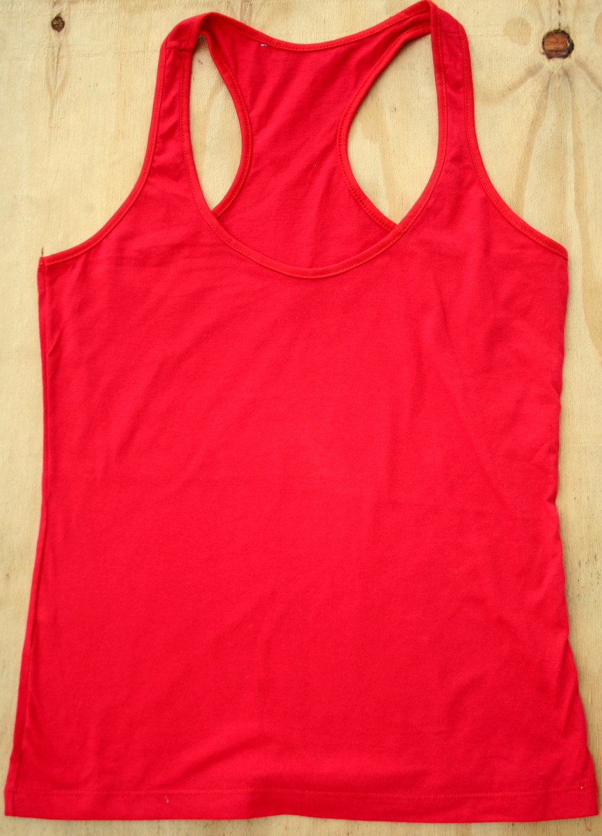 b2bc1b9cf89e6 Camiseta regata 100% algodão no Elo7