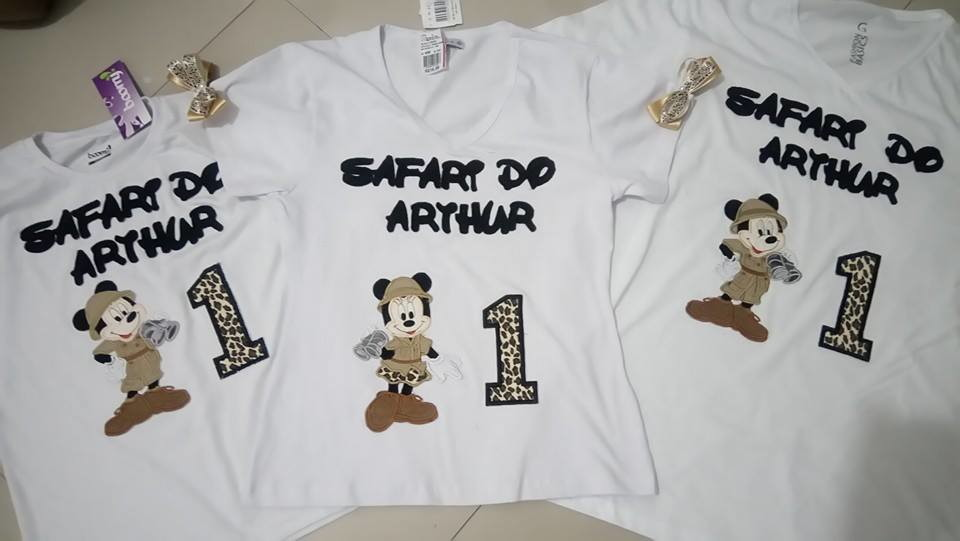 777541706a Zoom · Safari Mickey camisetas Mãe