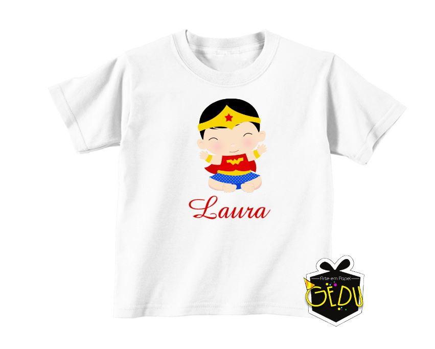 da35d3730e Camiseta Personalizada Mulher maravilha no Elo7