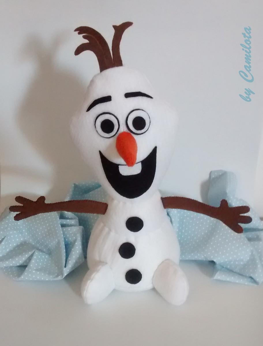 Olaf Frozen Em Feltro Camilota Artesanato Elo7