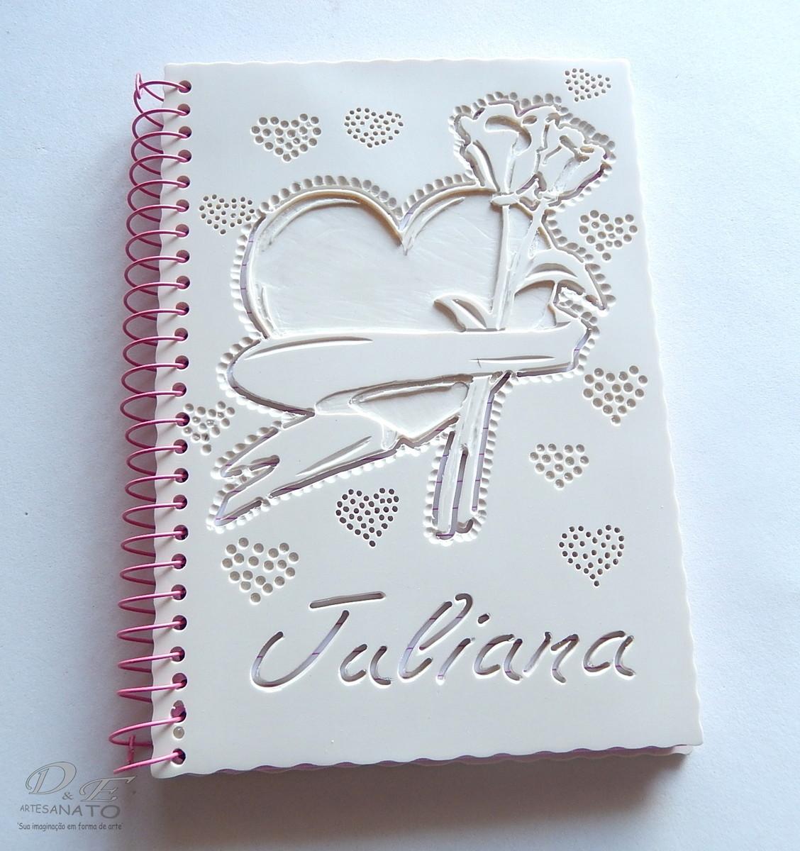 Amado Cadernos Personalizados com capa de PVC no Elo7 | Dielson Menezes  ZL95