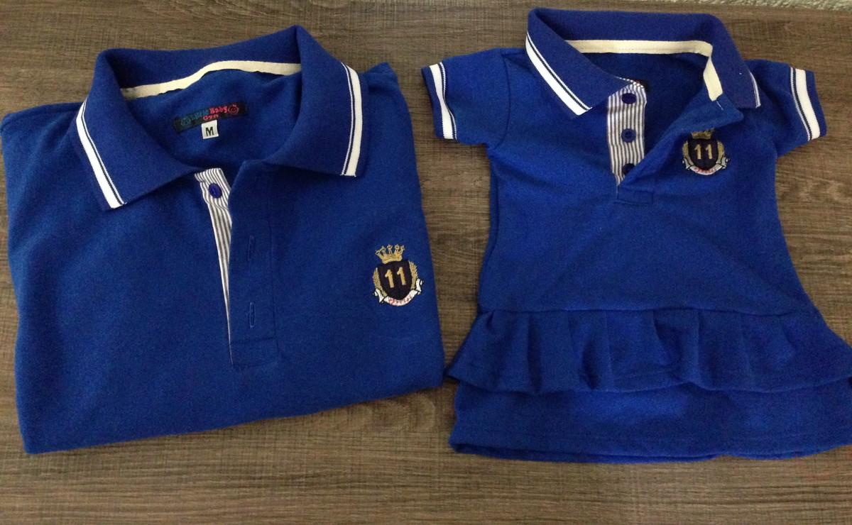 Tal Pai Tal Filha Vestido Azul Royal no Elo7  06f4a43082ba4