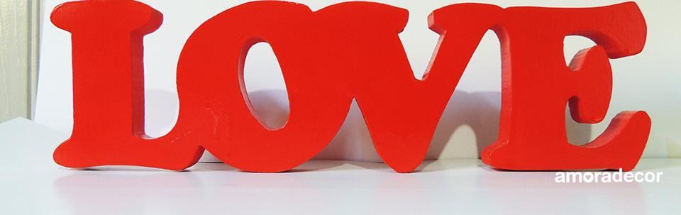 Letras 3d Love Vermelha No Elo7 Amora Festas 5c39a2