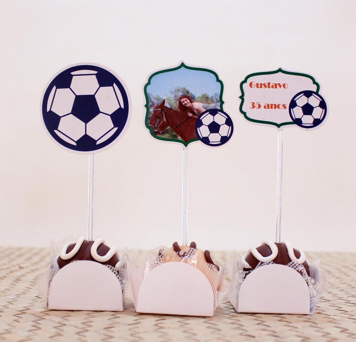 Kit-Topper para doces - Brasil bola futebol no Elo7  6334c732b05b1