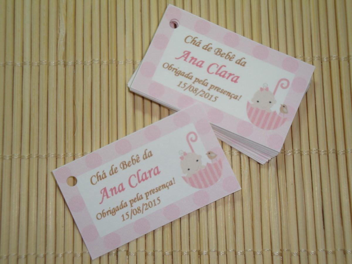 Tag Para Lembrancinha De Chá De Bebê No Elo7 Tags Criativos 35e281