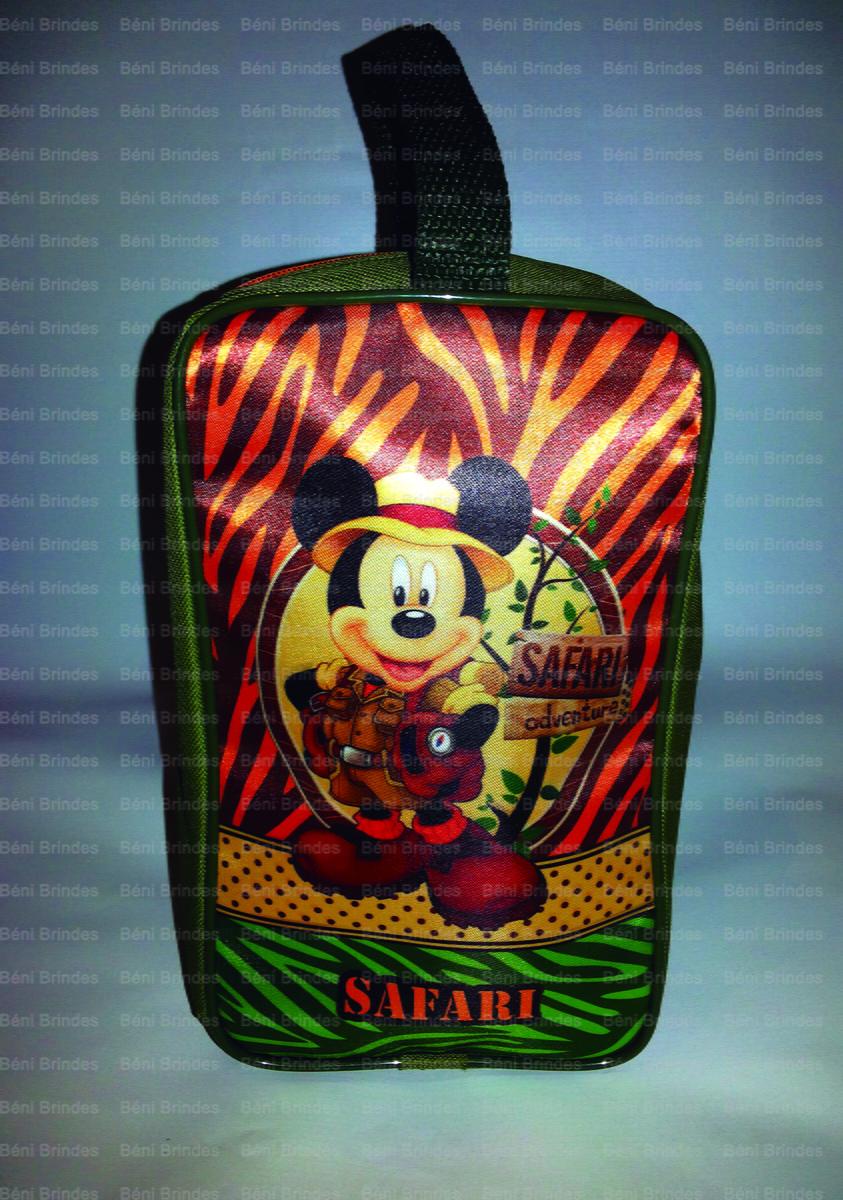 dc98b8ce2 Porta Chuteira Infantil Mickey Safari no Elo7
