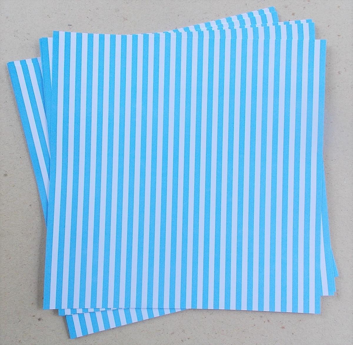 Papel scrapbook azul claro torre d 39 papel elo7 for Papel decorativo azul