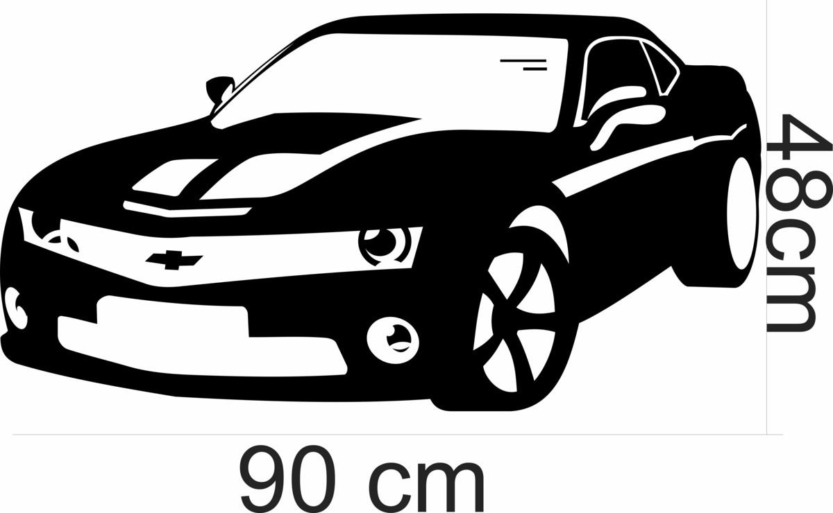 Adesivos Parede Camaro Carro Quarto No Elo7 Adesivos Sempre Viva  -> Sala Quarto Cozinha Carro