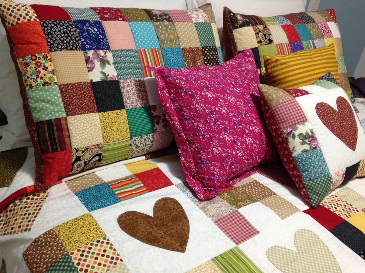 Colcha patchwork cora es tam queen no elo7 re padilha arte em tecidos 5db03b - Colcha patchwork ...