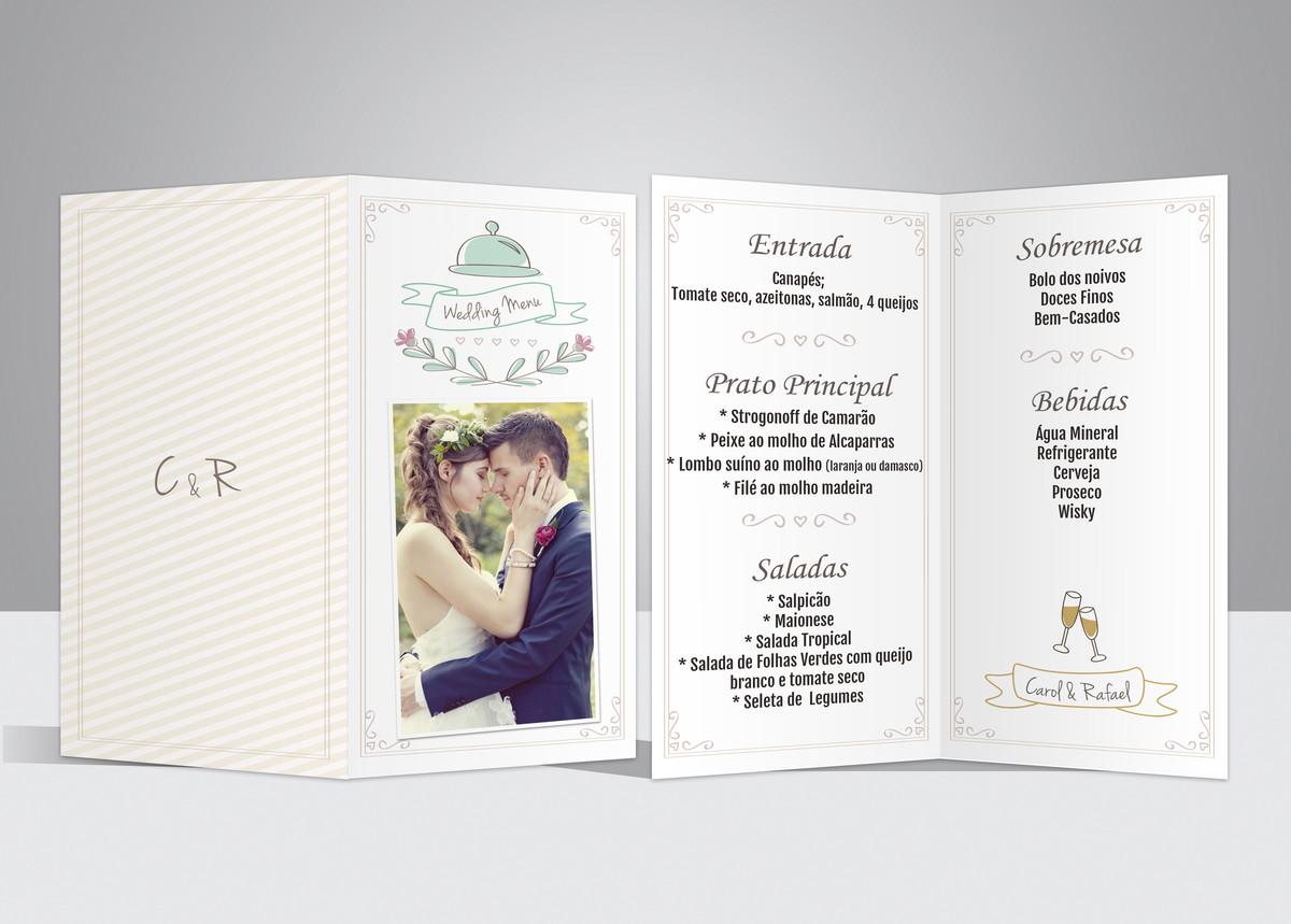 Menu casamento wedding menu 3 no elo7 fotogift 5e1453 zoom menu casamento wedding menu 3 junglespirit Gallery
