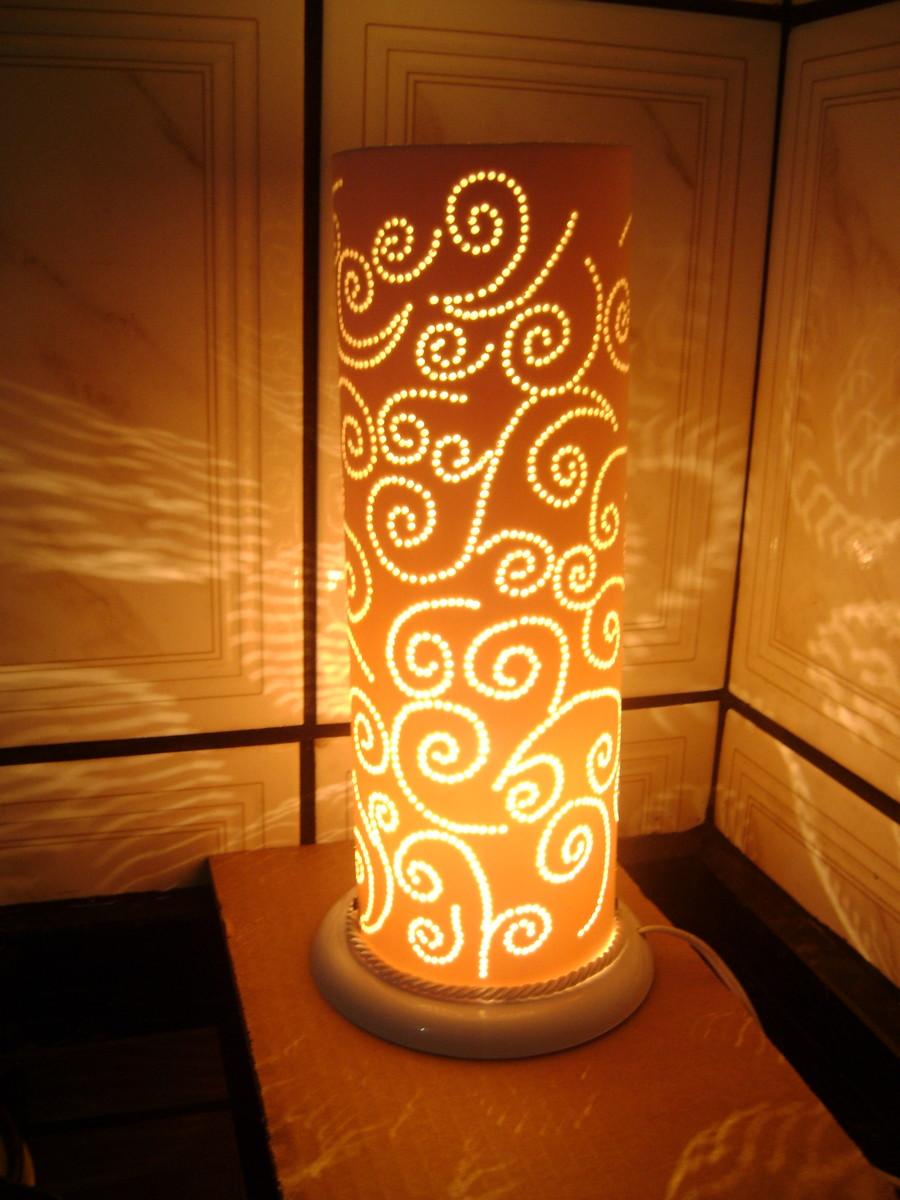 Luminaria Com Desenho Aleatorio No Elo7 Seriguela Artes 5e3bf5
