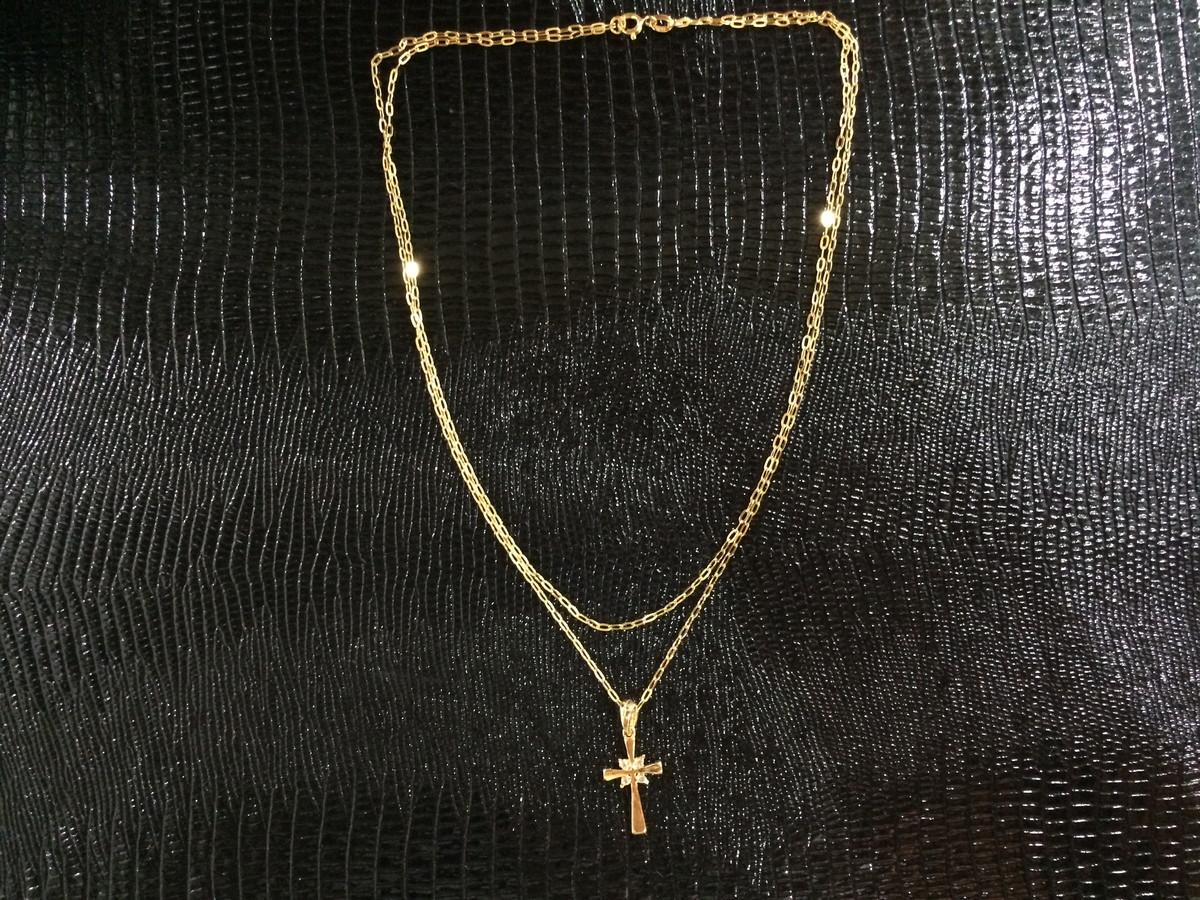 Promoção Colar Duplo Folheado Ouro 18K no Elo7   La   Ny Pratas (5EEF9B) 247cd6e73d
