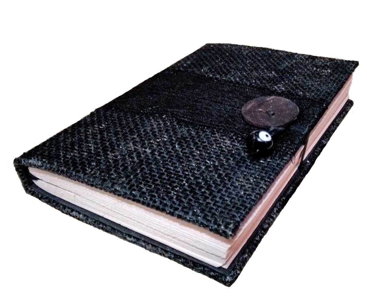 Caderno Artesanal Mod. Livro das Sombras | Cariokines | Elo7