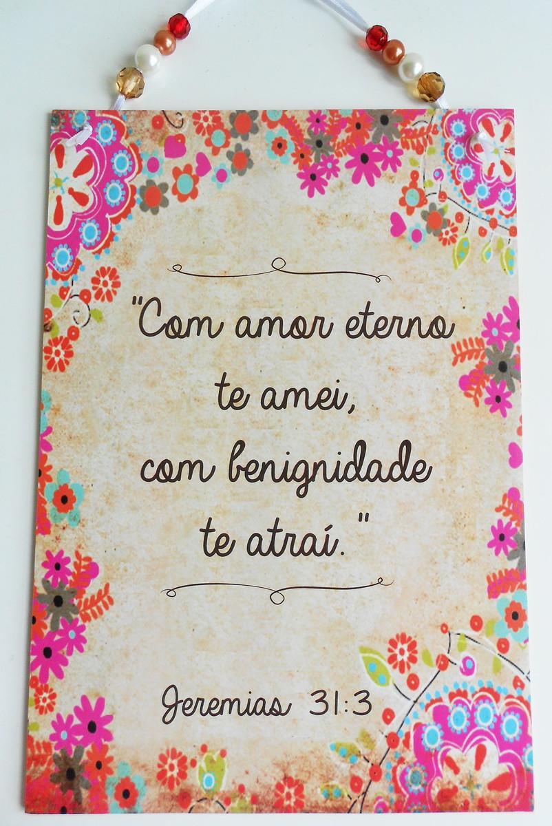 Plaquinha Frase Bíblica No Elo7 Papel Com Artes 5f476c