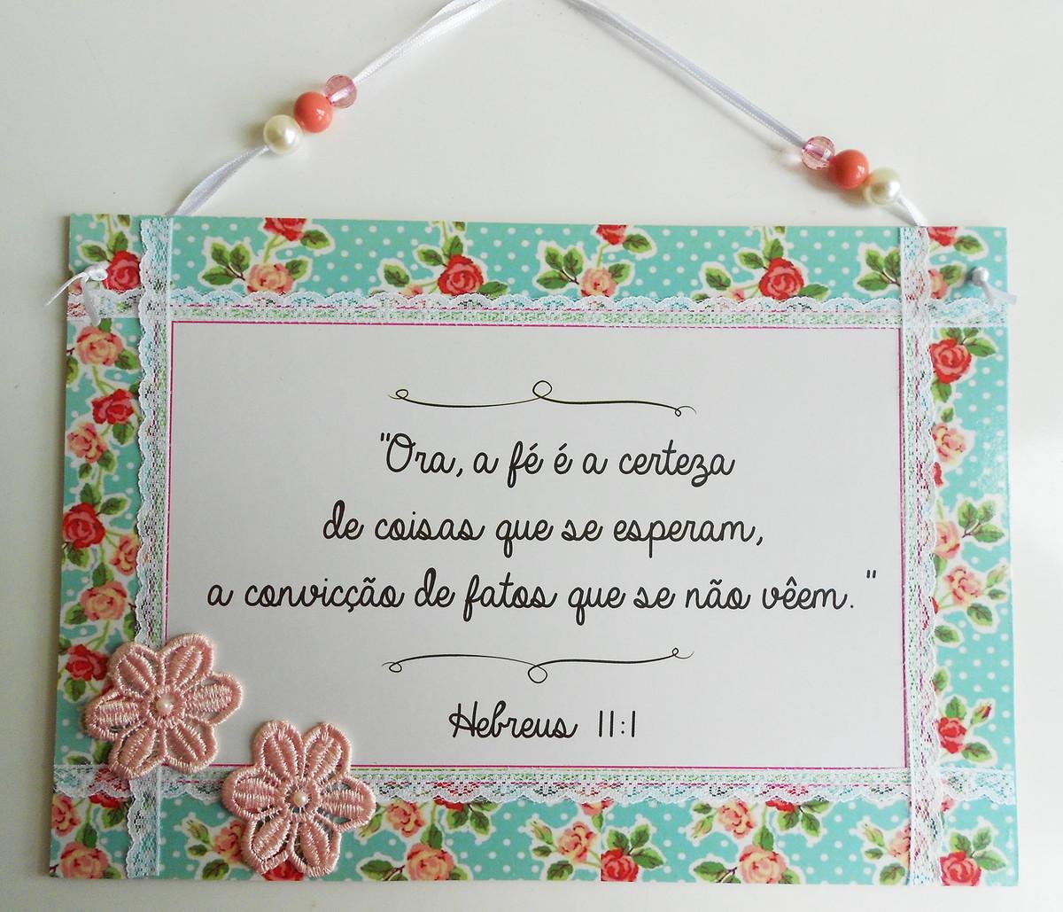 Plaquinha Frase Bíblica No Elo7 Papel Com Artes 5f477f
