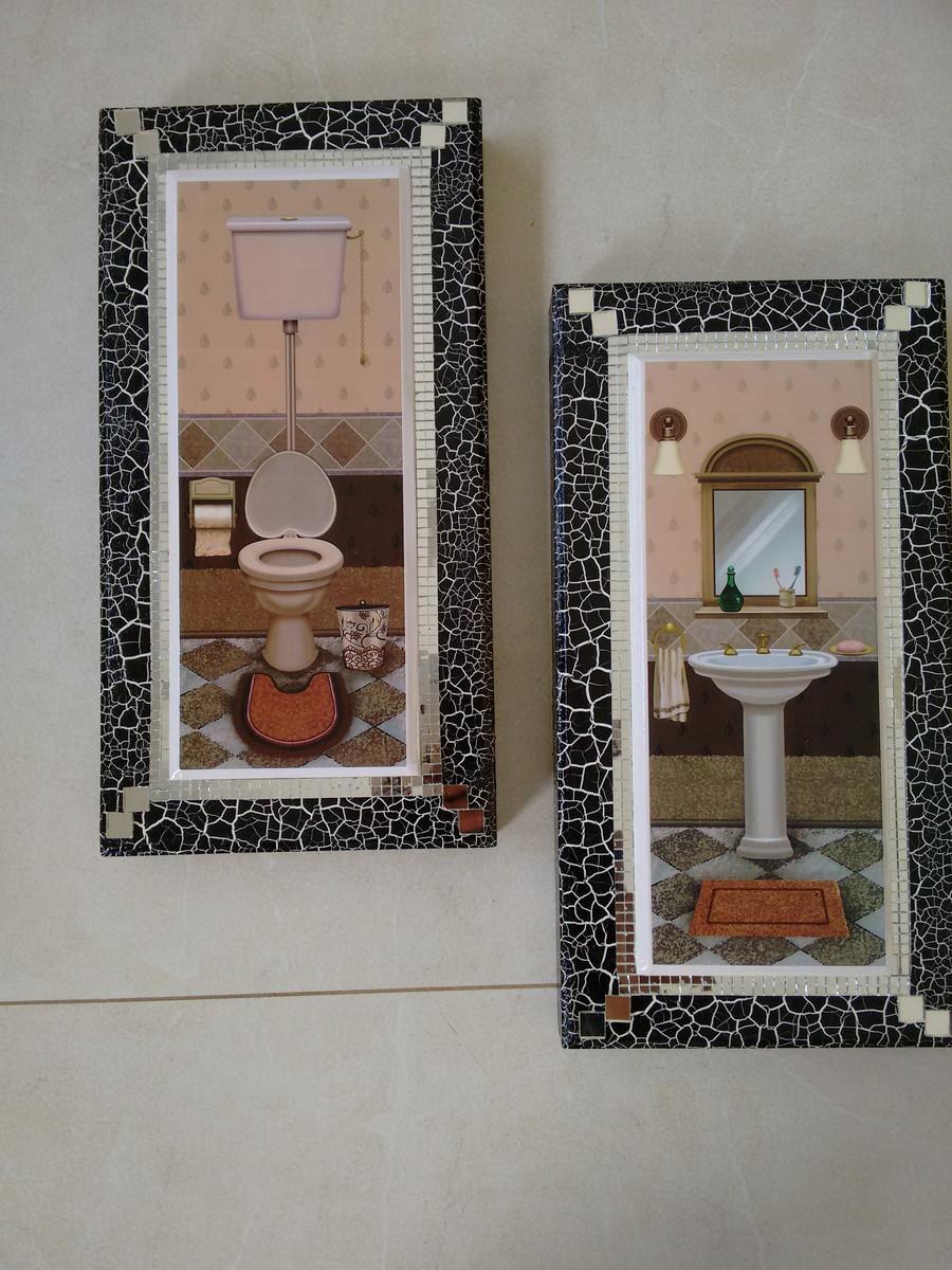 Quadros para decorar seu lavabo no elo7 cida lopes - Decorar fotografias ...