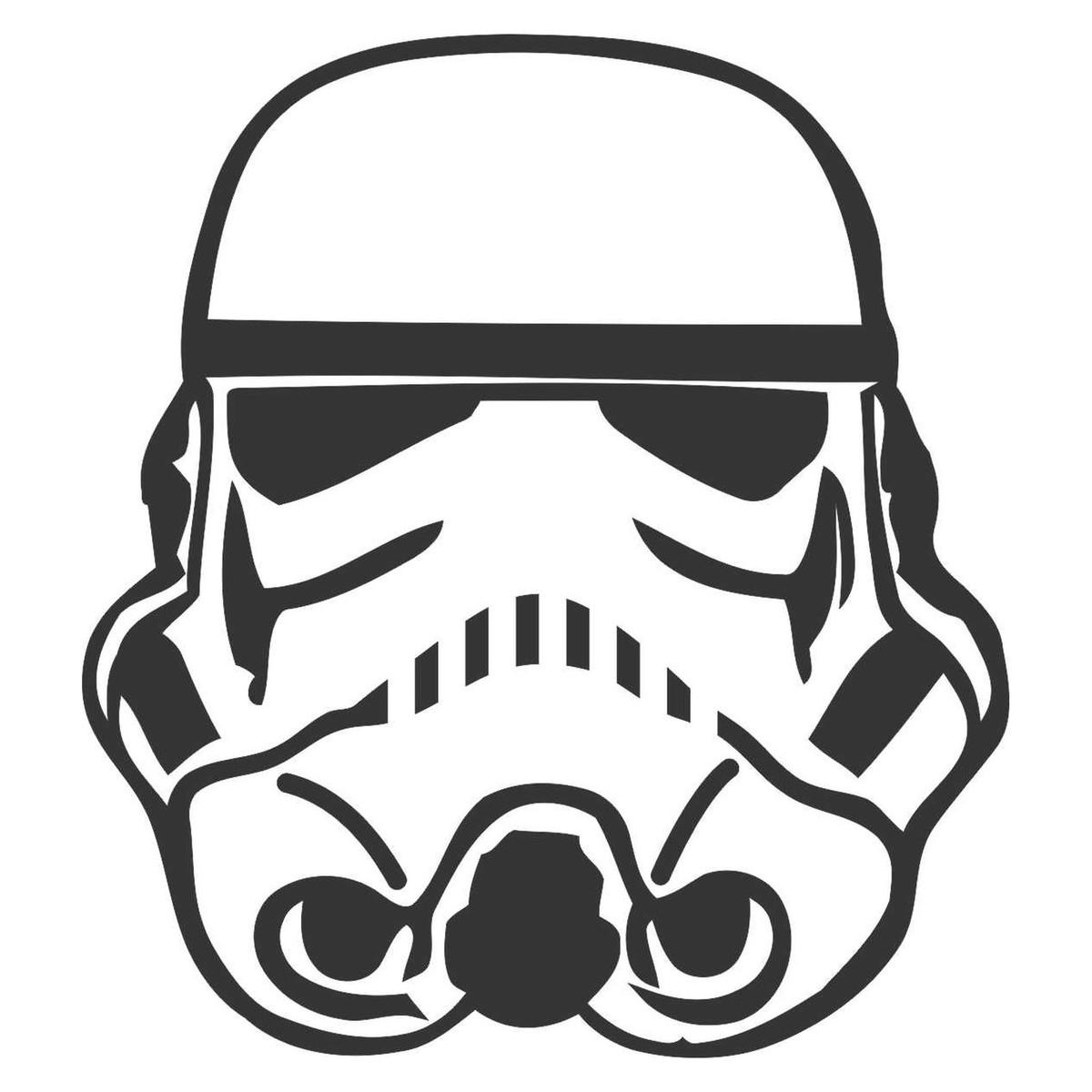 Adesivo Starwars Stormtrooper No Elo7