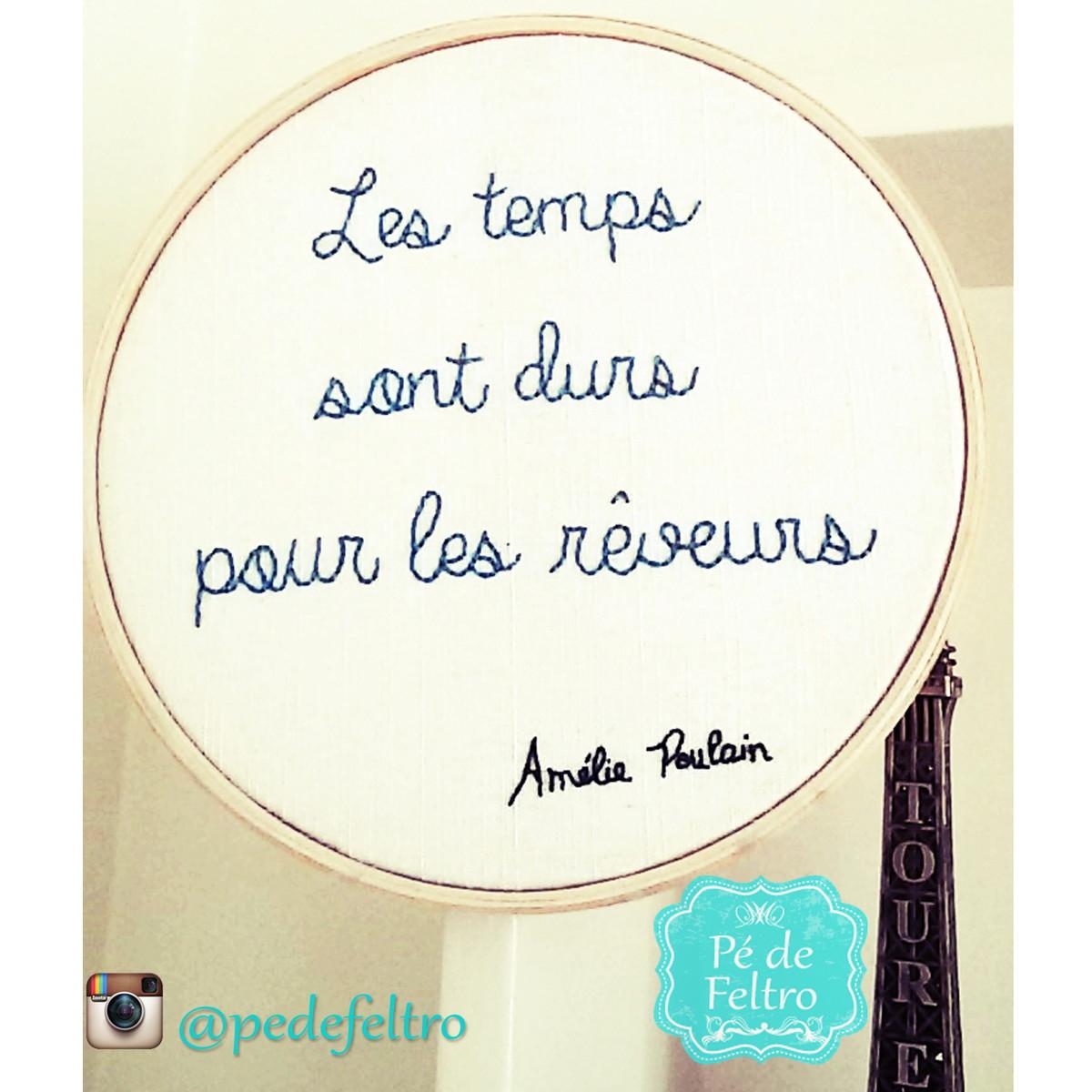 Bastidor Amélie Poulain