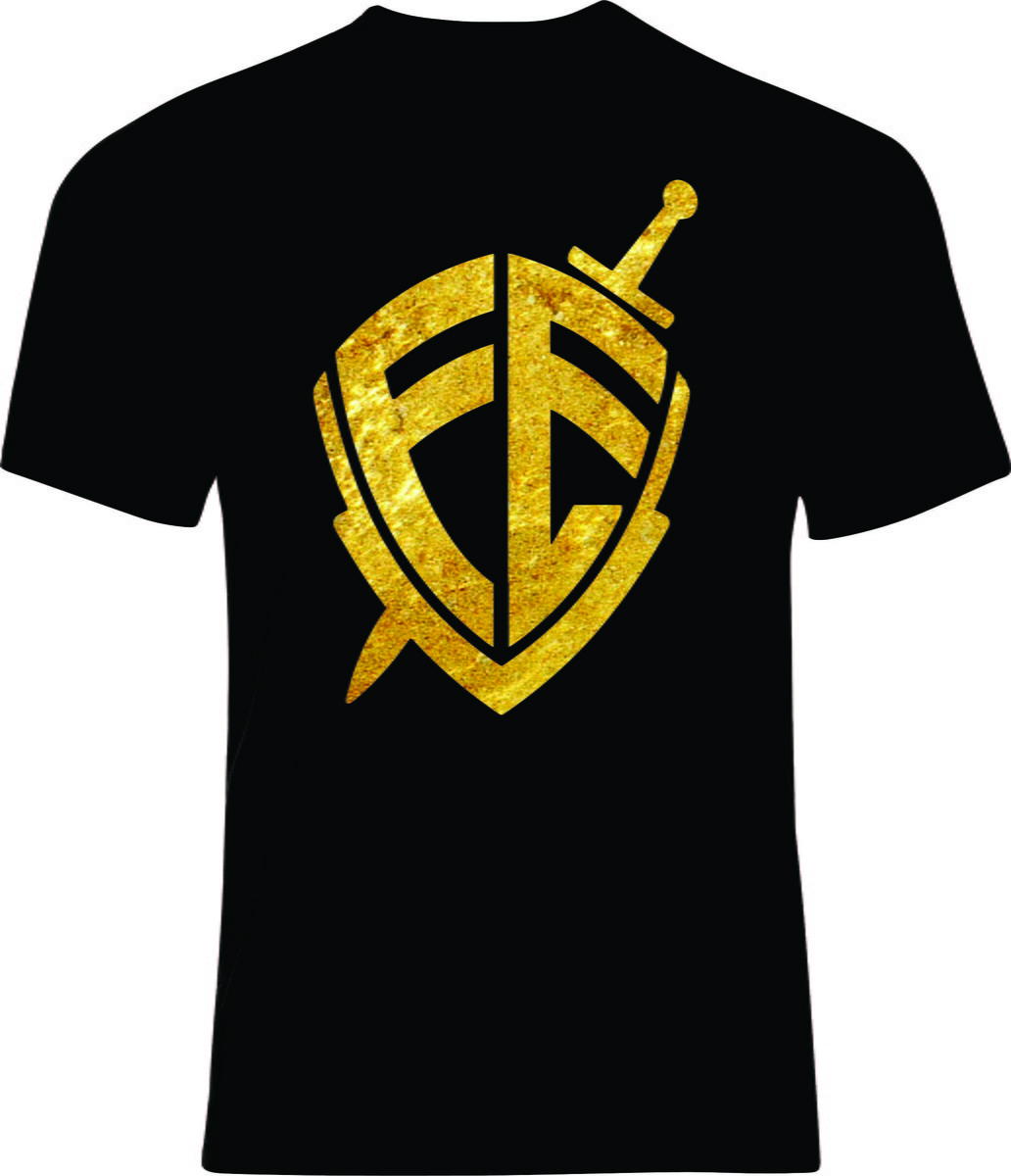 0cde2da5d9 Zoom · Camiseta Escudo da Fé
