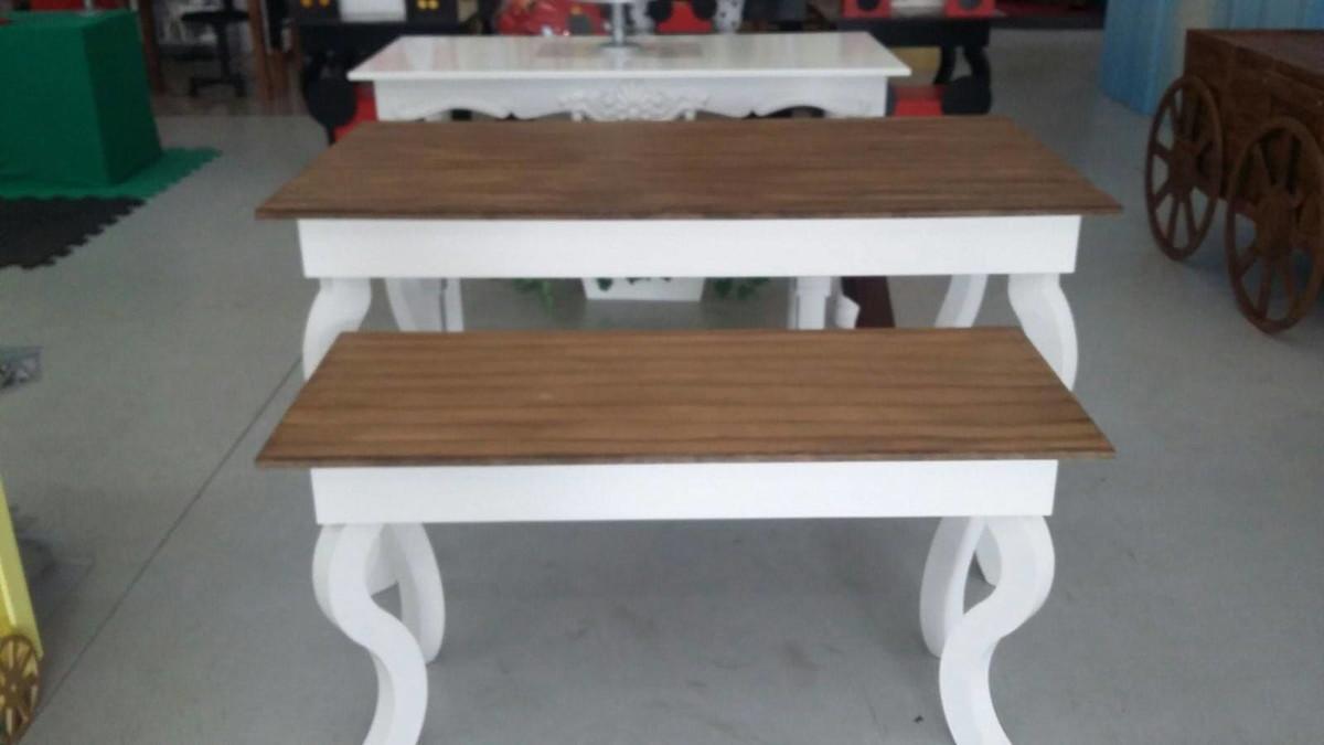 Loca o de mesa rustica adriana leal by abracadabra elo7 for Mesas para bar rusticas
