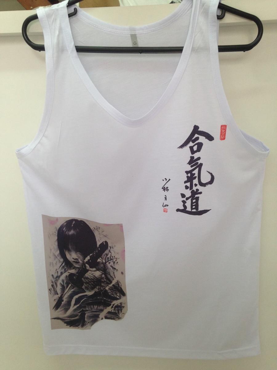 Camiseta Regata Estampada no Elo7  47850d775e7